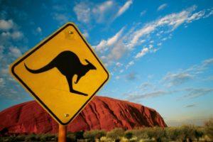 Uluru-Roadsign