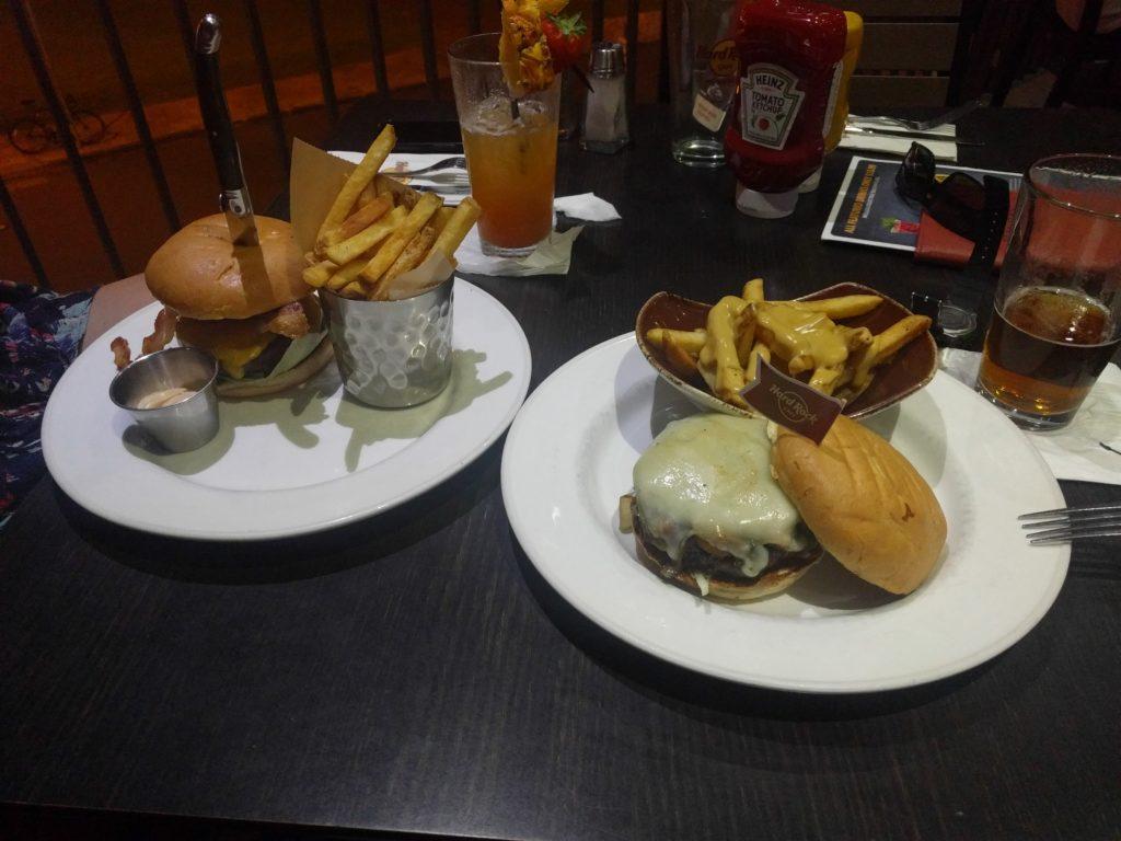 Burgers au Hard Rock Café