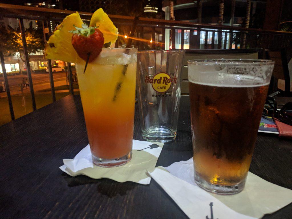 Cocktail et Bière