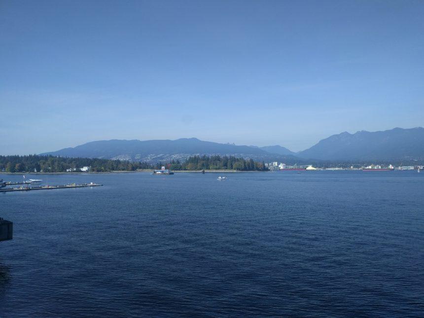 Vue Nord de Vancouver