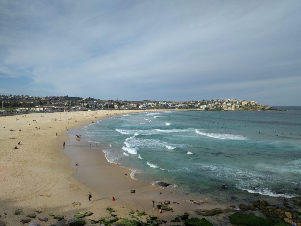 La plus connue des plages de Sydney, Bondi Beach