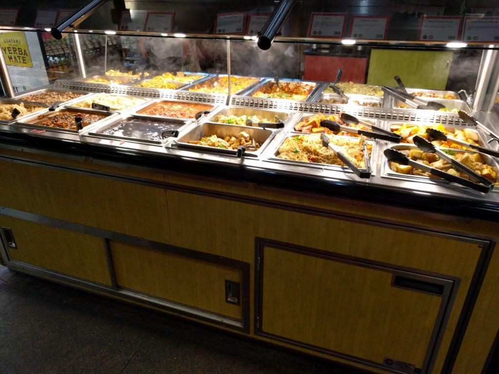 Le buffet qui nous a fait saliver et même craquer