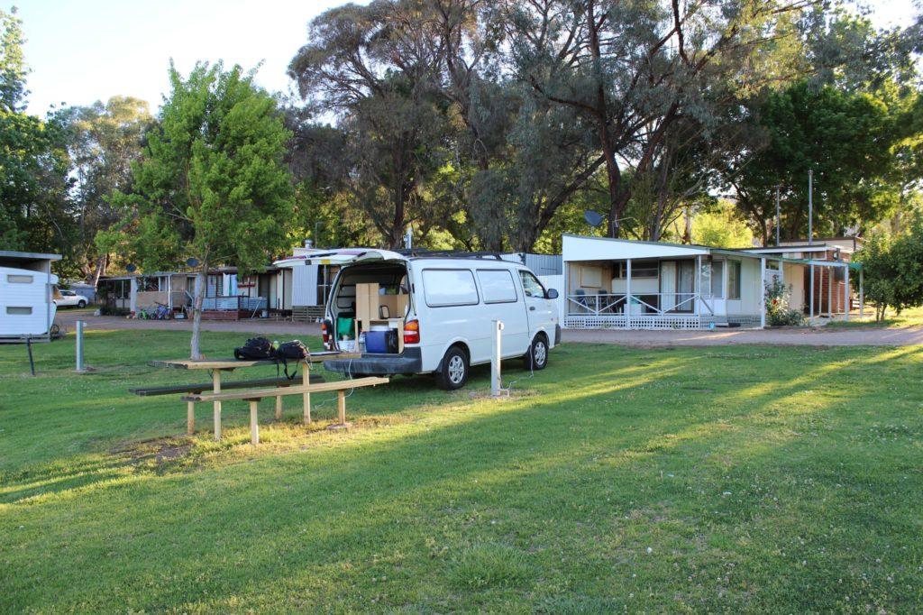 Notre emplacement de camping