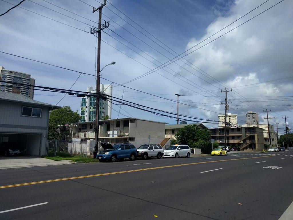 Vue de notre quartier à Honolulu 2
