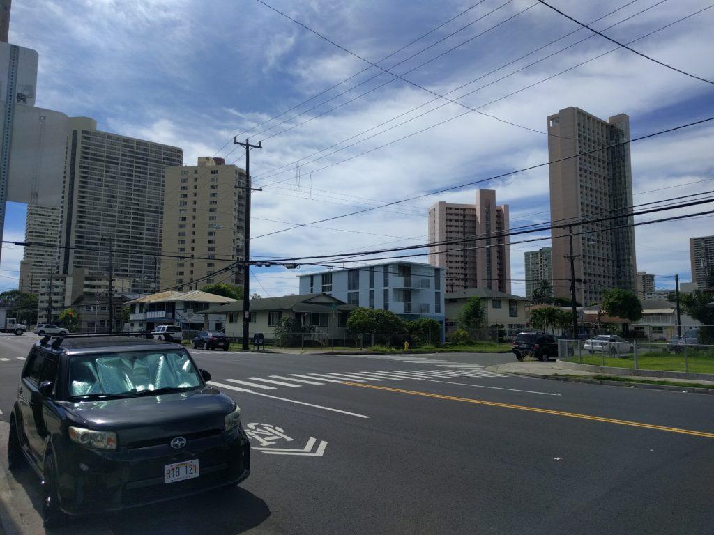 Vue de notre quartier à Honolulu 3