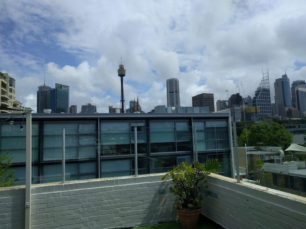 Vue sur Sydney depuis notre Rooftop