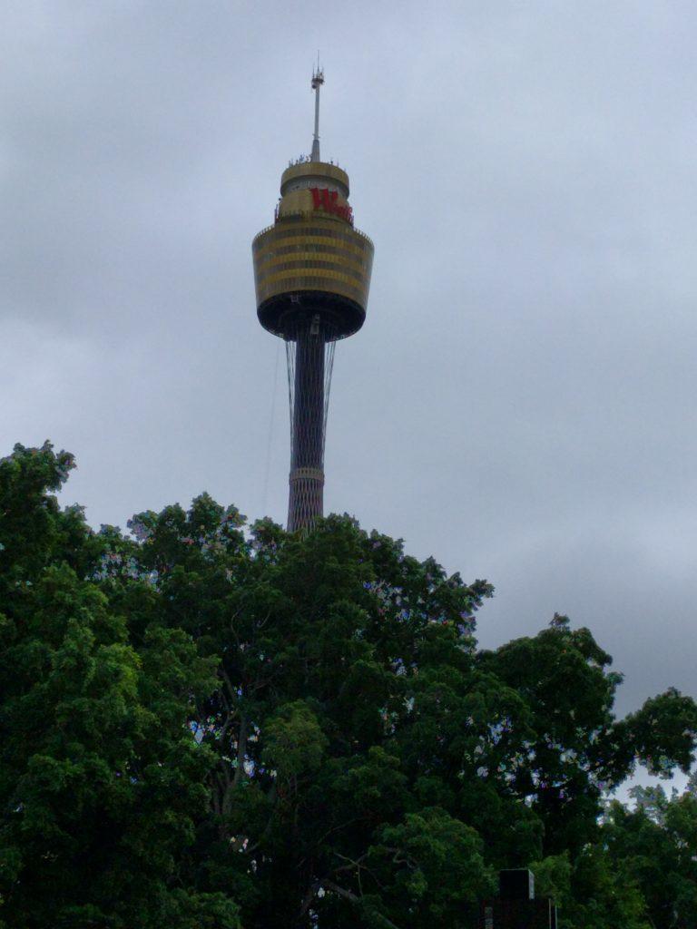 Westfield Tower, célèbre tour de Sydney en forme de mât de bateau pirate