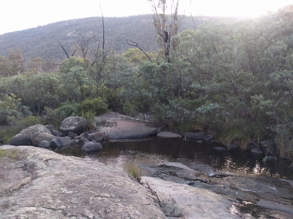 Bassin au Namadgi National Park