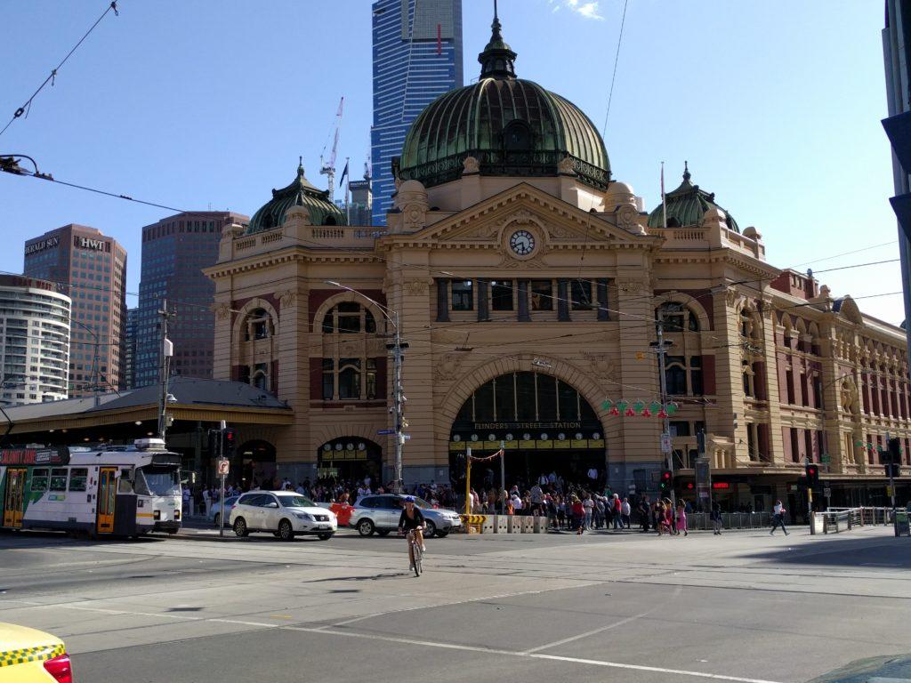 Flinders Street Station à Melbourne