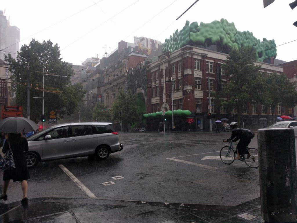 Il fait beau à Melbourne