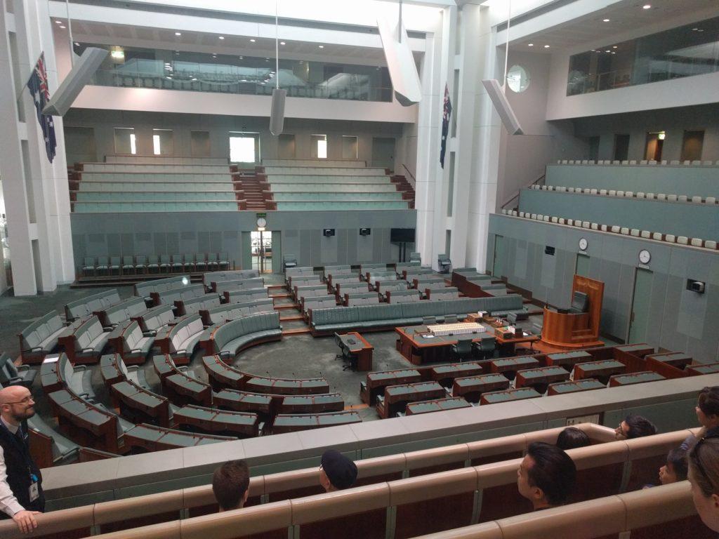 La chambre des representatives (députés)
