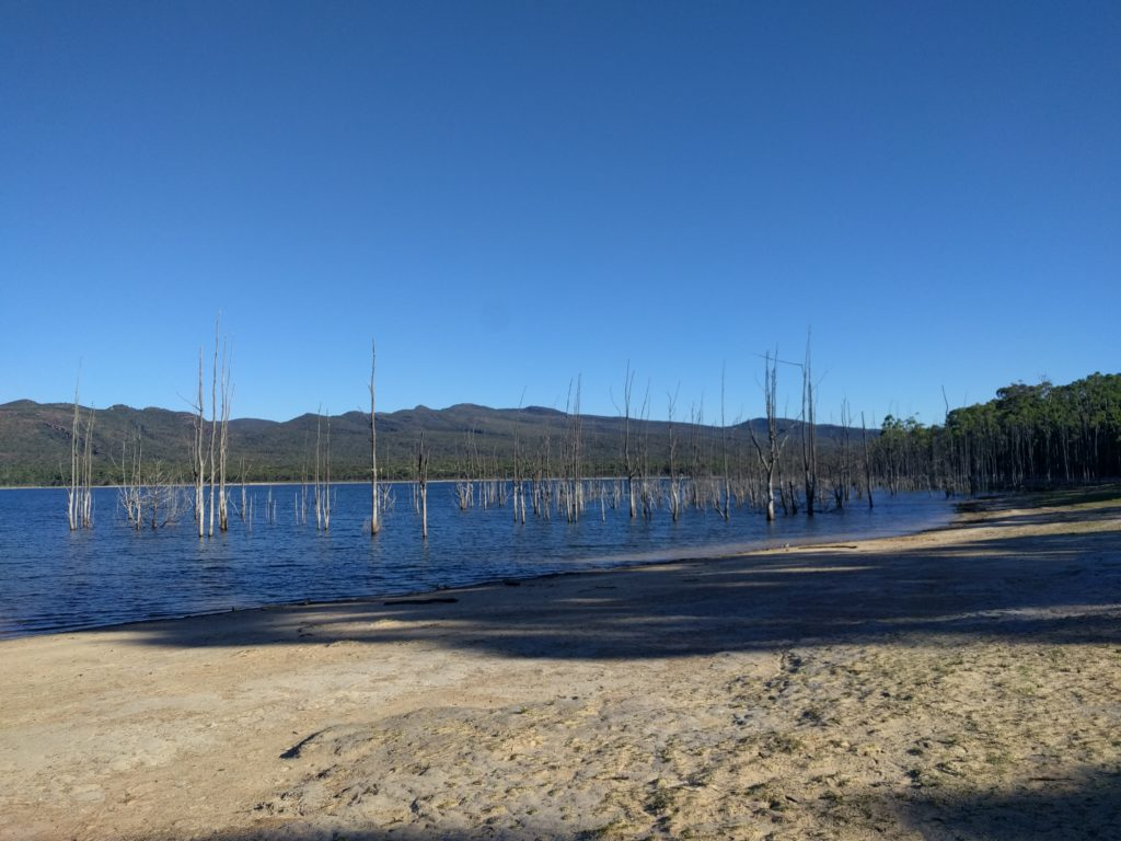 Lac aux Grampians