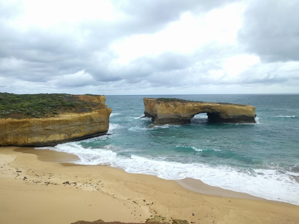 London Arch, autre arrêt de la Great Ocean Road