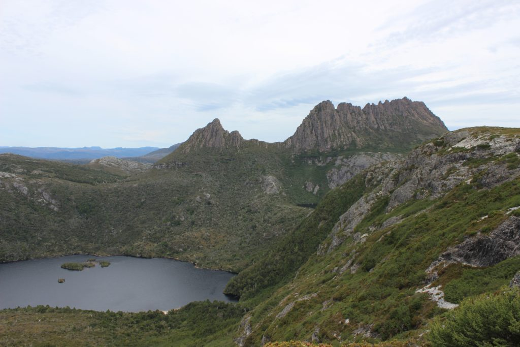 Cradle Mountain depuis Marions Lookout