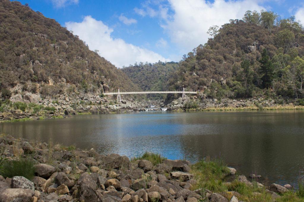 Pont suspendu au-dessus de la Cataract Gorge