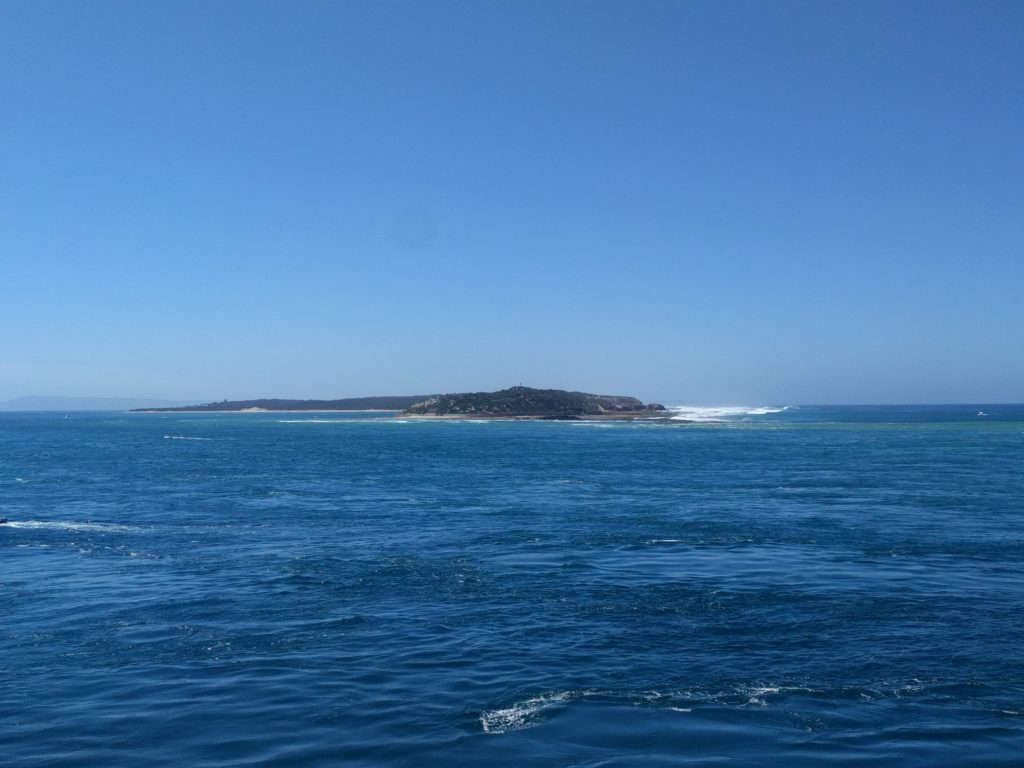 Sortie de la Port Phillip Bay - Baie de Melbourne