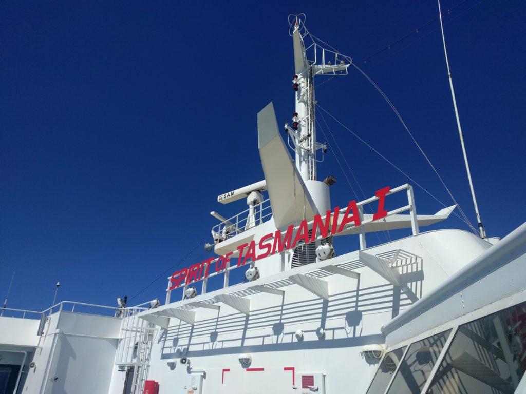Spirit of Tasmania I, notre ferry à l'aller