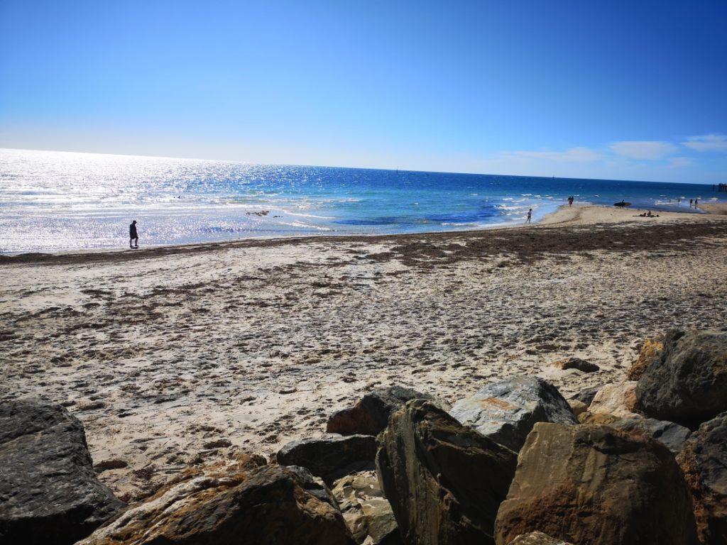 Encore la plage de Glenelg