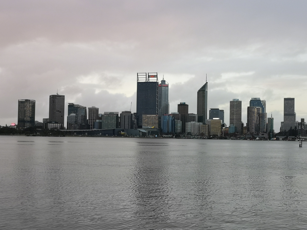 Skyline de Perth depuis Mill Point - South Perth