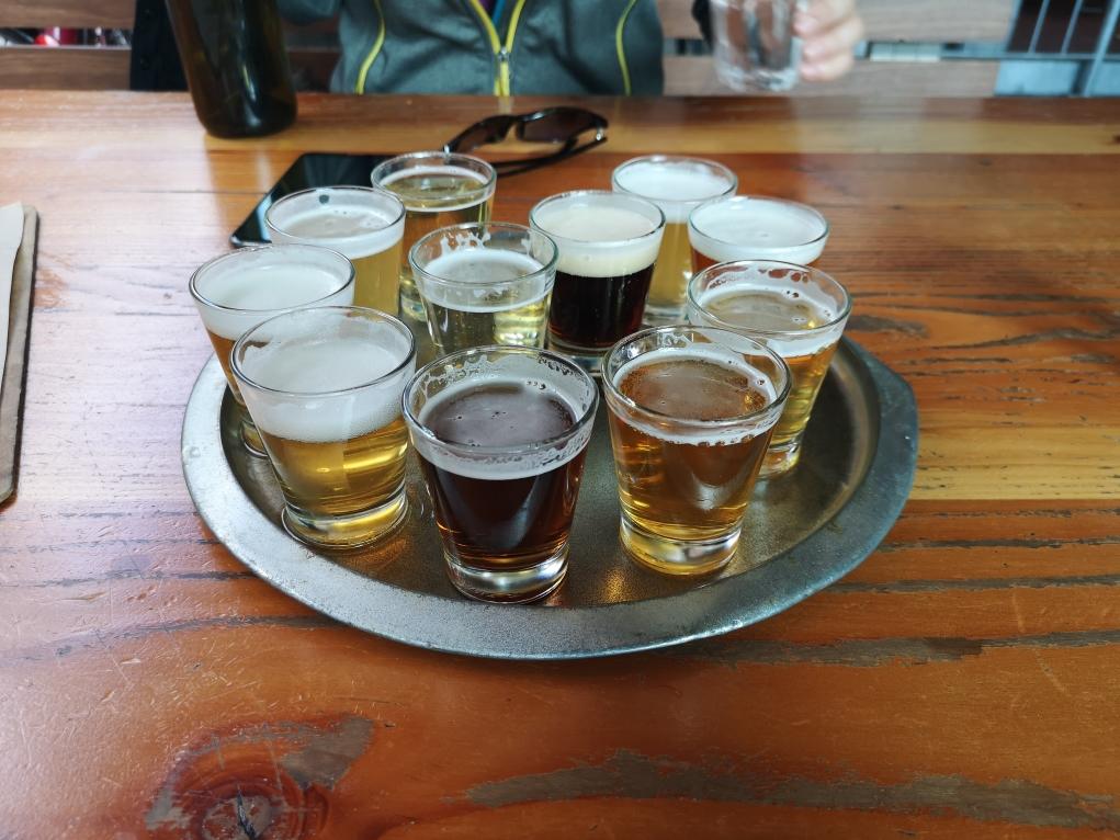 Dégustation des 9 bières et des 2 cidres Little Creatures