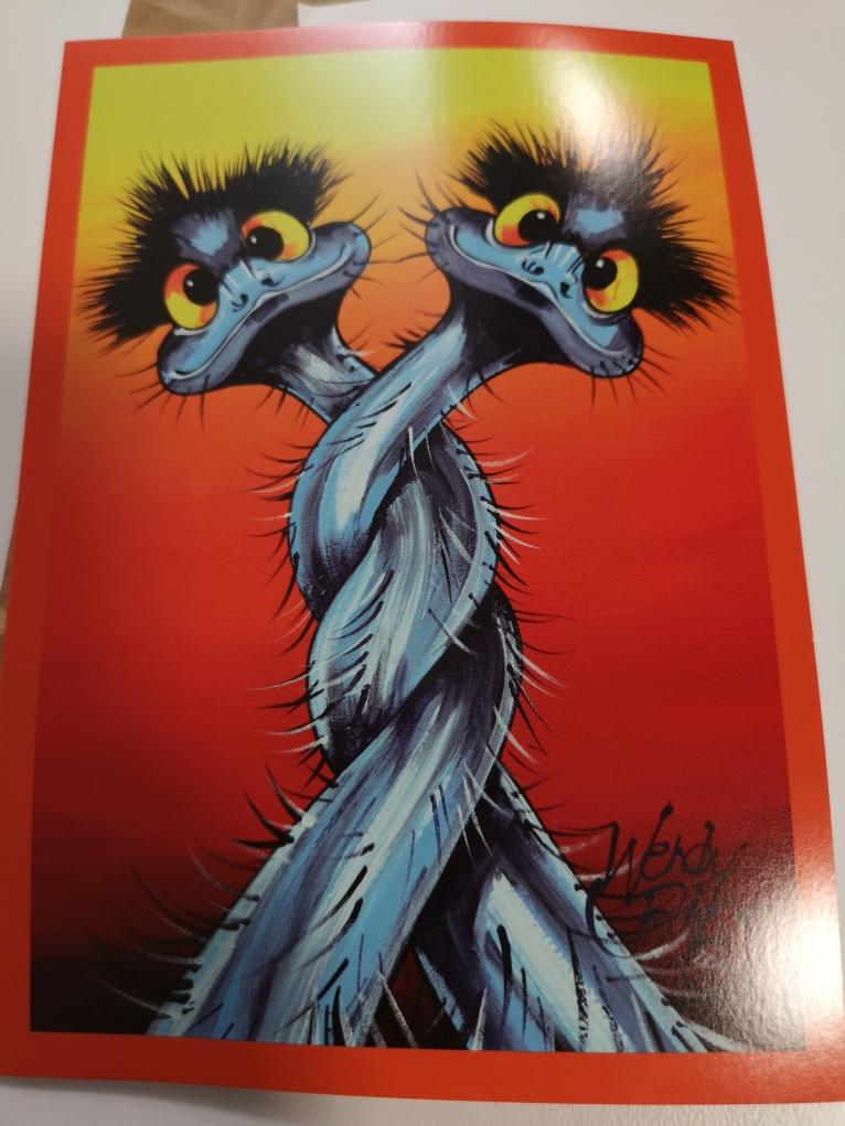 Une carte réalisée par Wendy Binks
