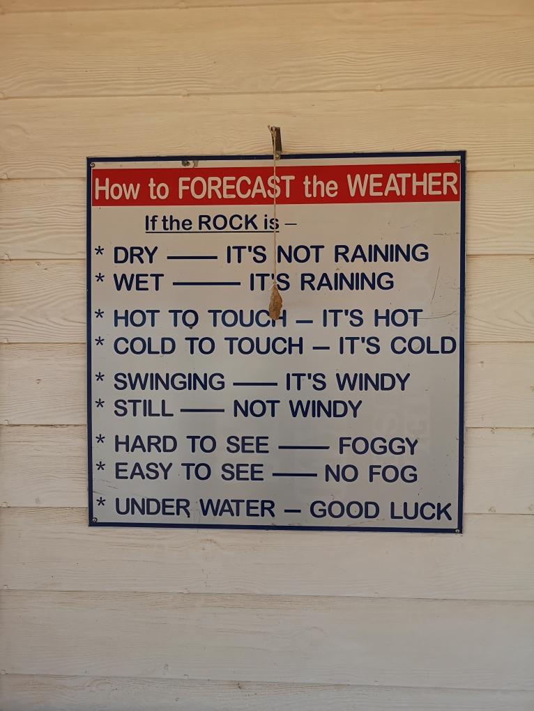 La météo à l'Australienne
