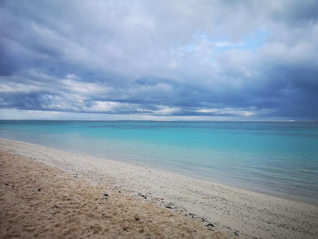 Turquoise Bay sous les nuages