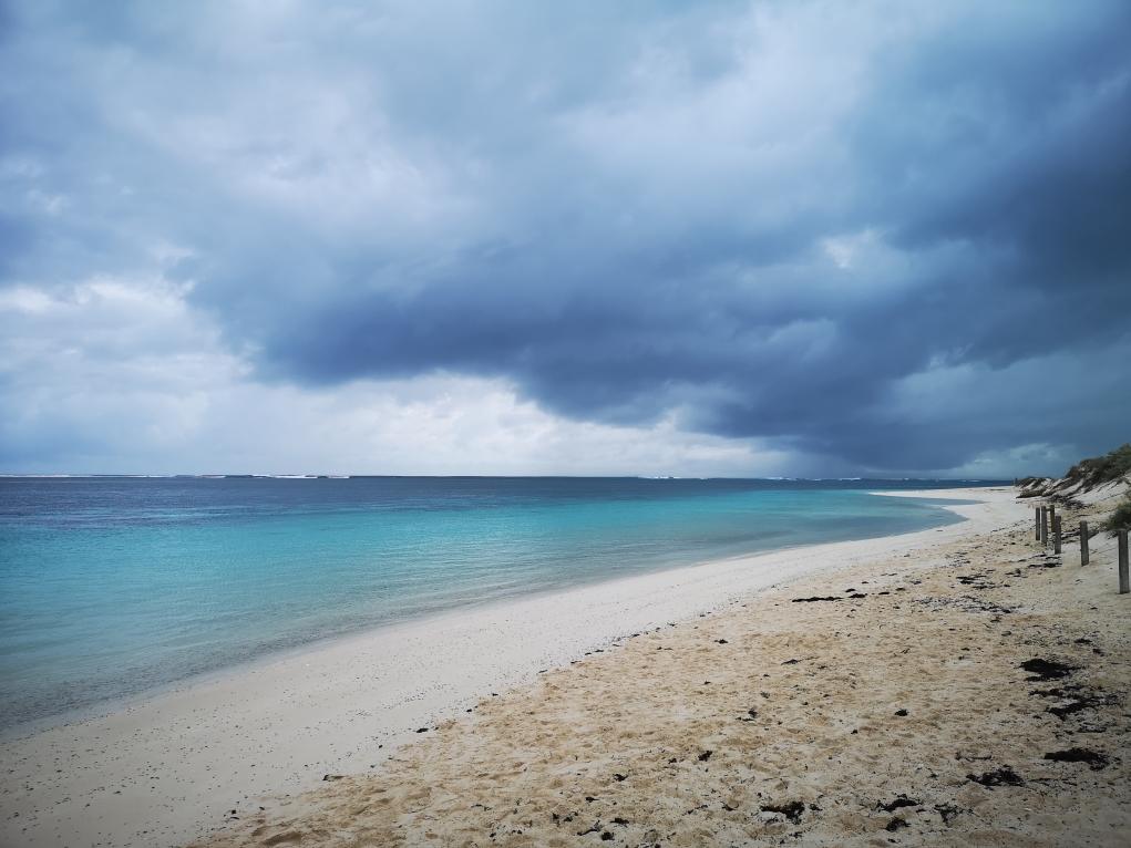 La belle eau de Turquoise Bay