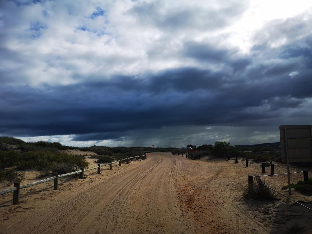 L'orage menace...
