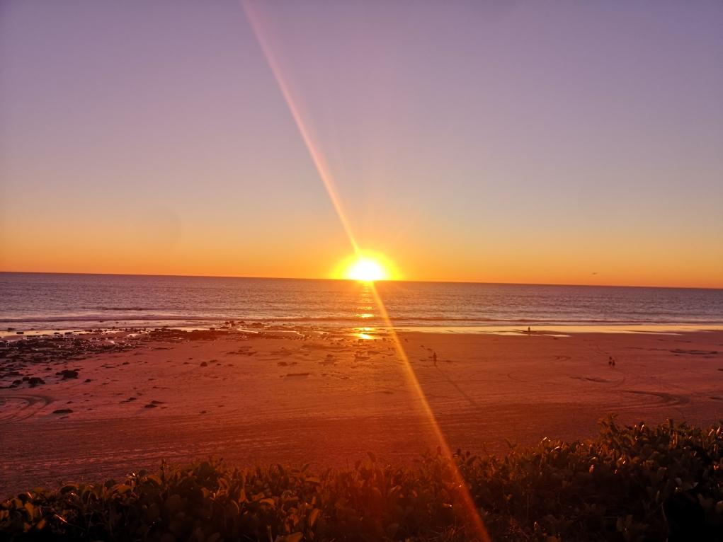 Coucher de soleil sur Cable Beach