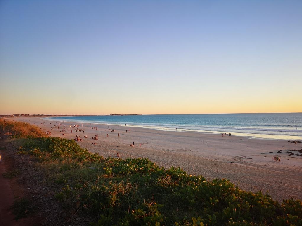 Cable Beach au coucher du soleil