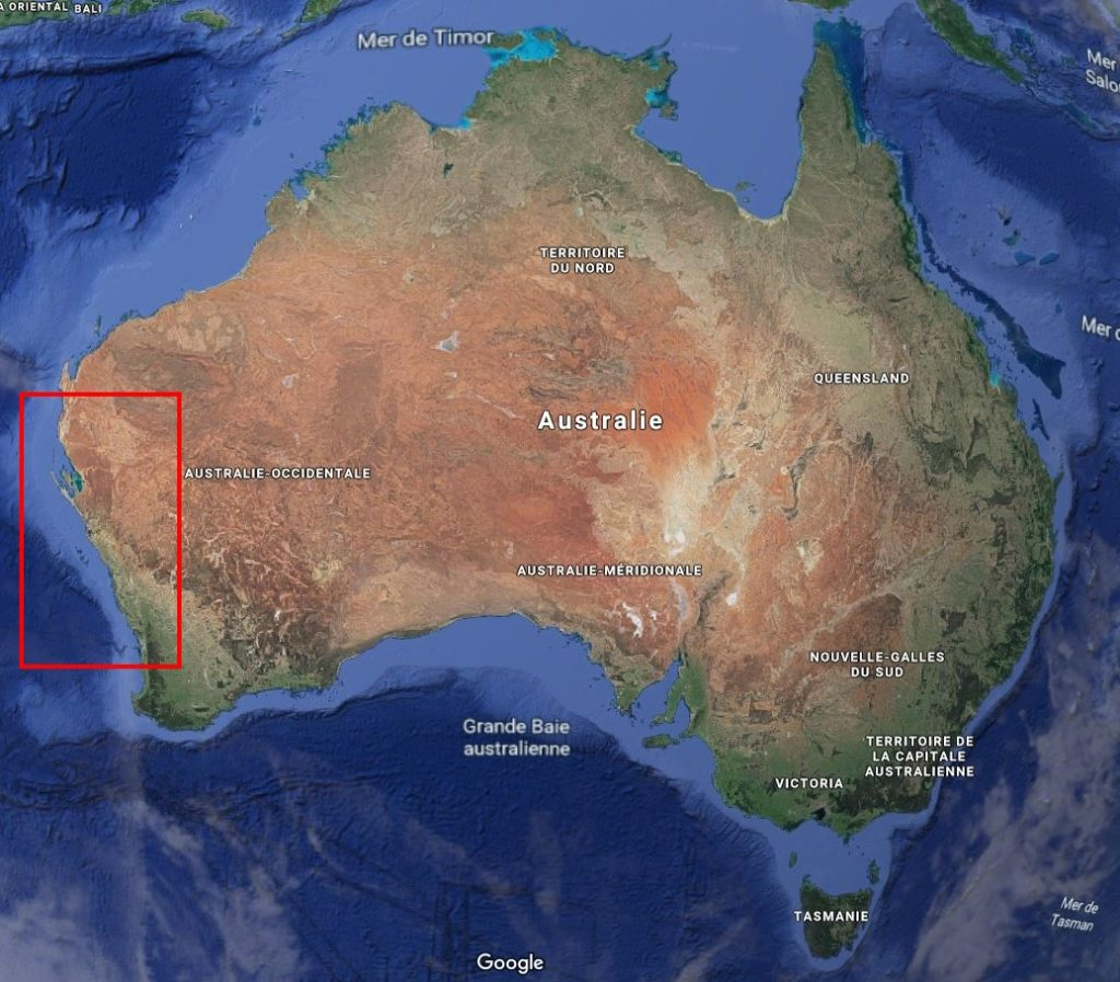 On entre dans une zone moins verte de l'Australie