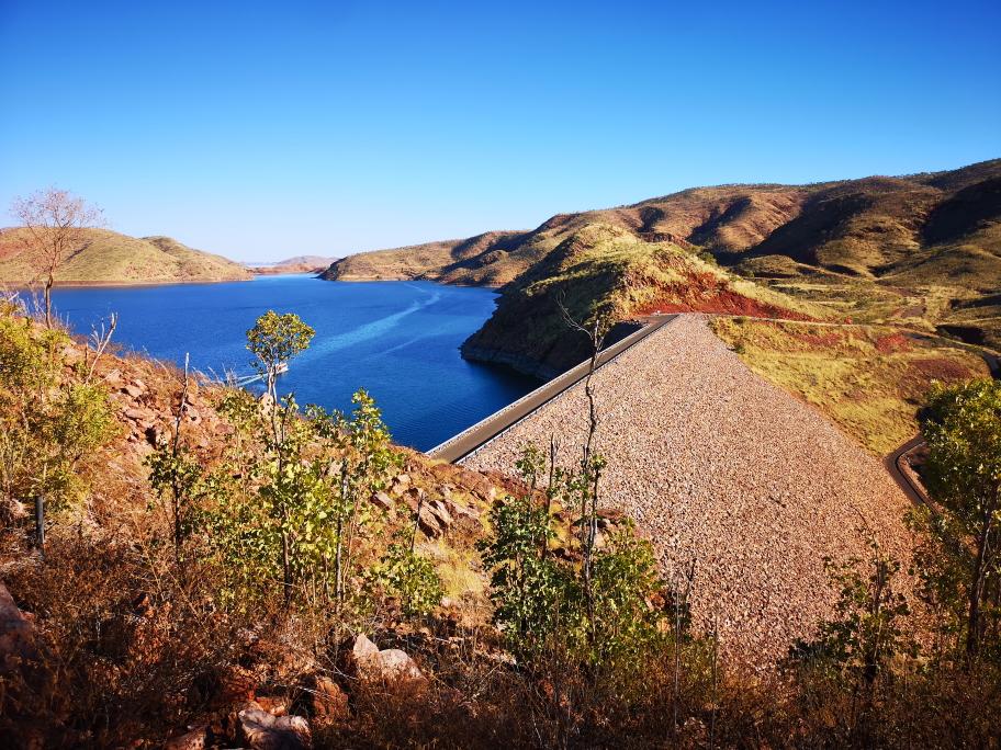Le barrage du Lake Argyle