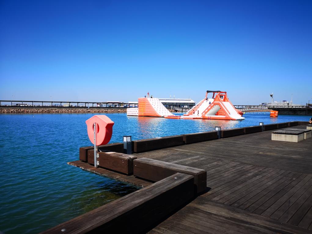 Le lagon - partie jeux aquatiques