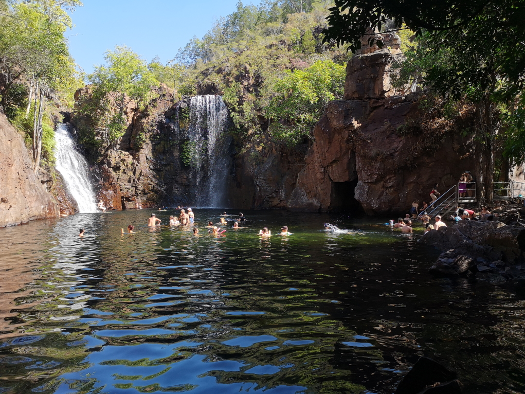 Le bassin de Florence Falls