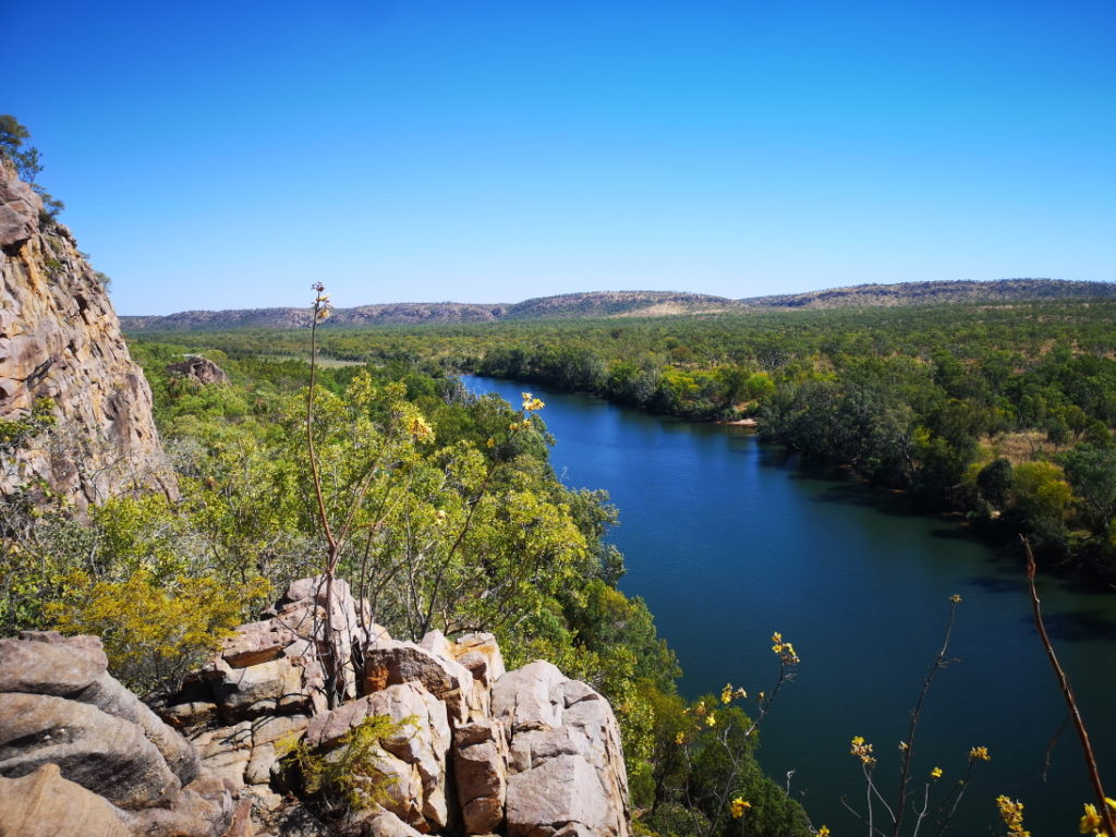 La Katherine River au milieu du Nitmiluk National Park