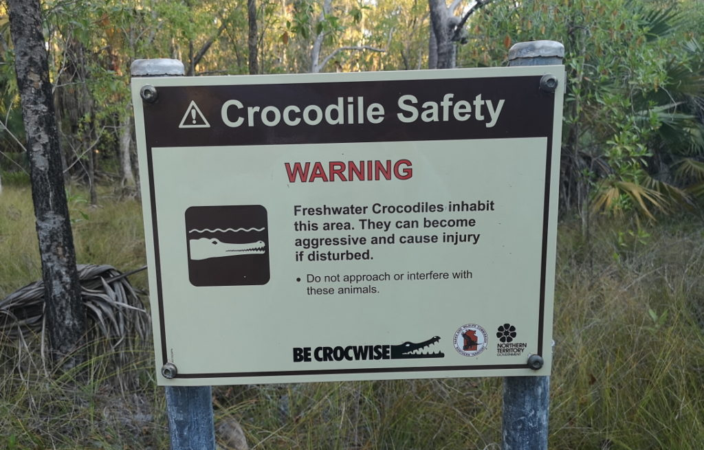 Be crocwise.