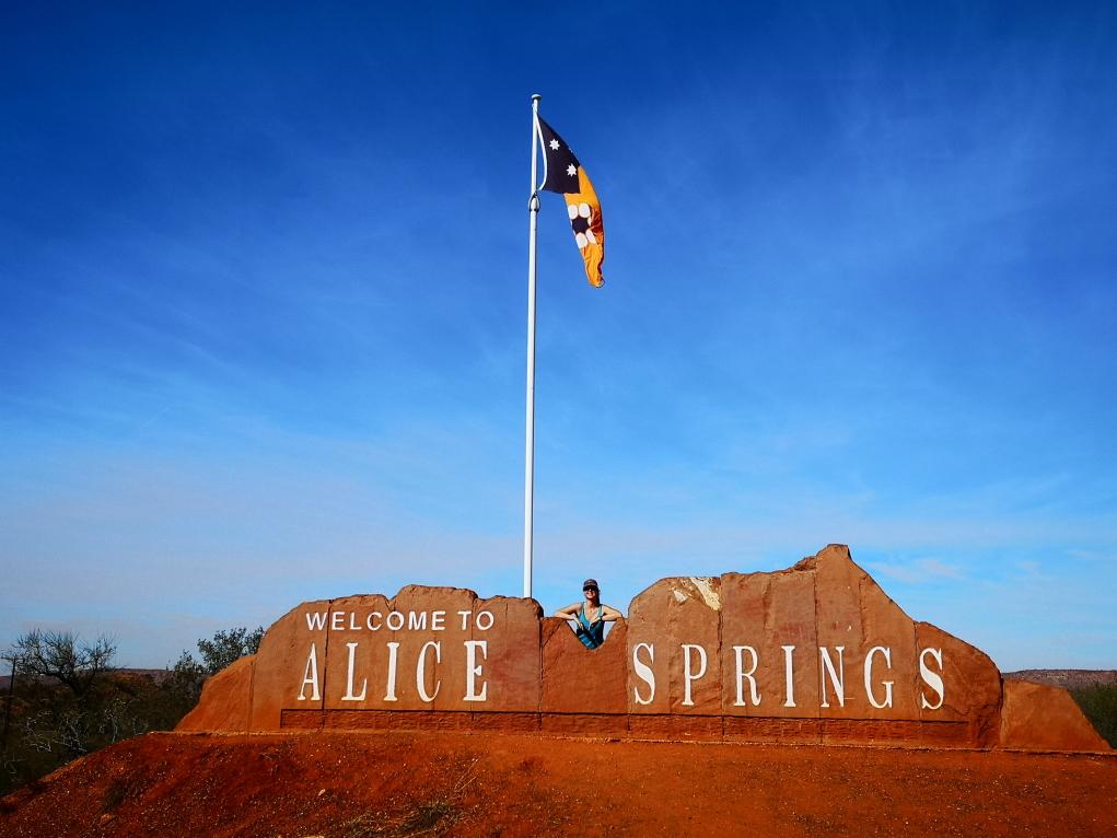 Alice Springs, nous voilà!