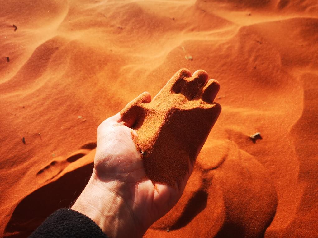 Le sable de la dune