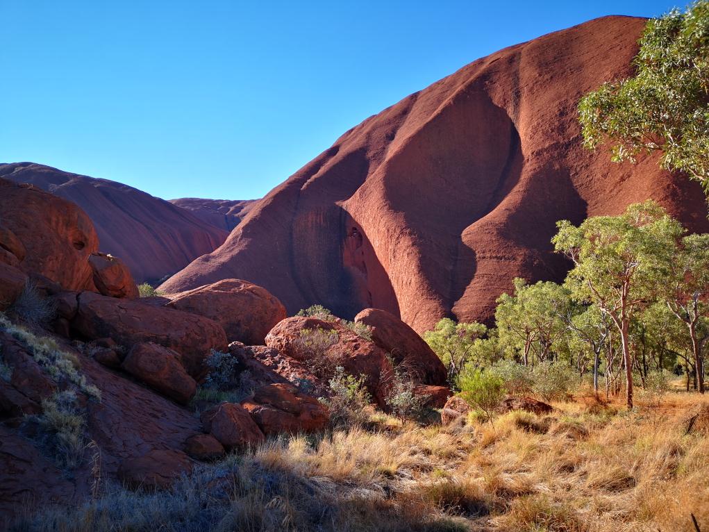 L'Uluru face Sud