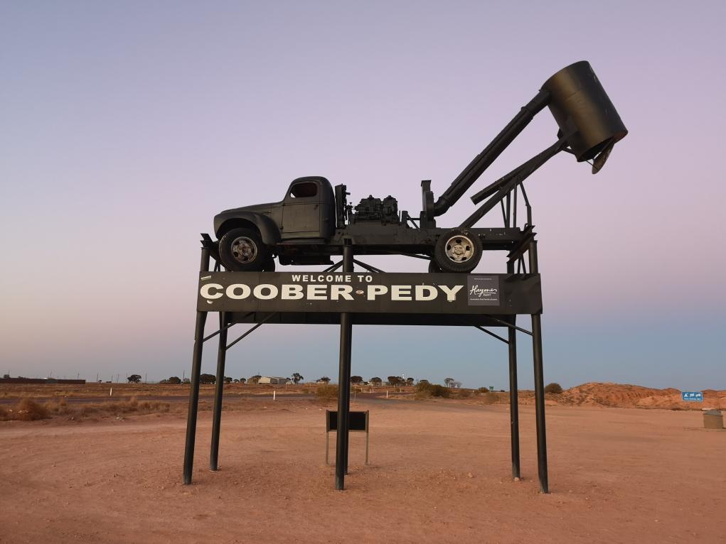 Bienvenue à Coober Pedy!