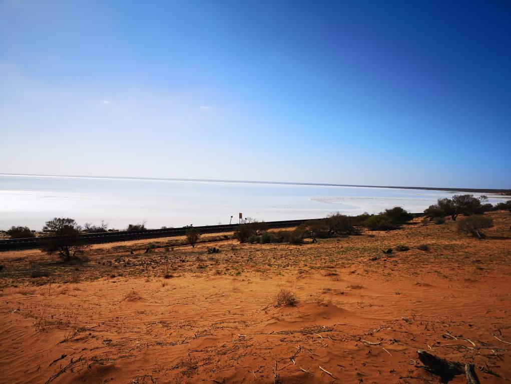 Autre vue sur le Lake Hart
