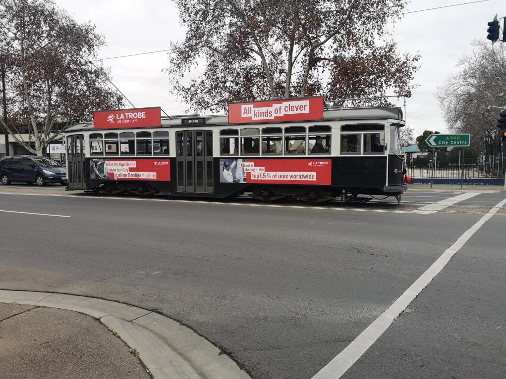 Le tramway de Bendigo