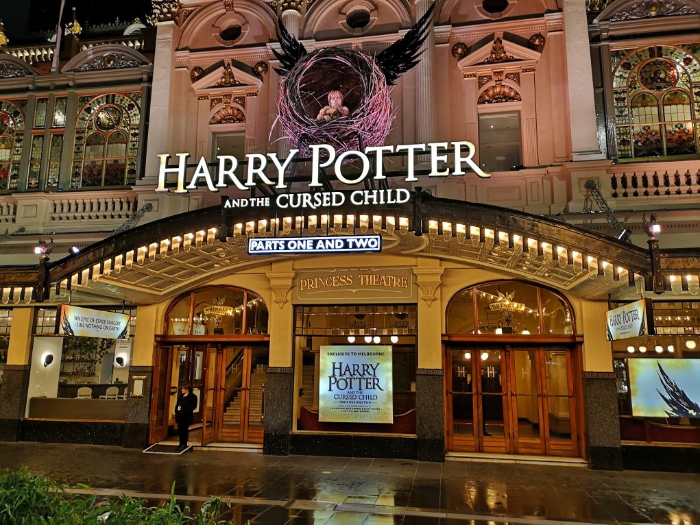 Harry Potter et l'Enfant Maudit au théâtre à Melbourne