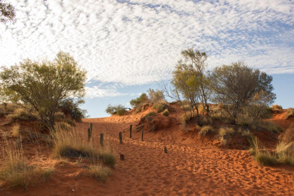 La dune de sable rouge