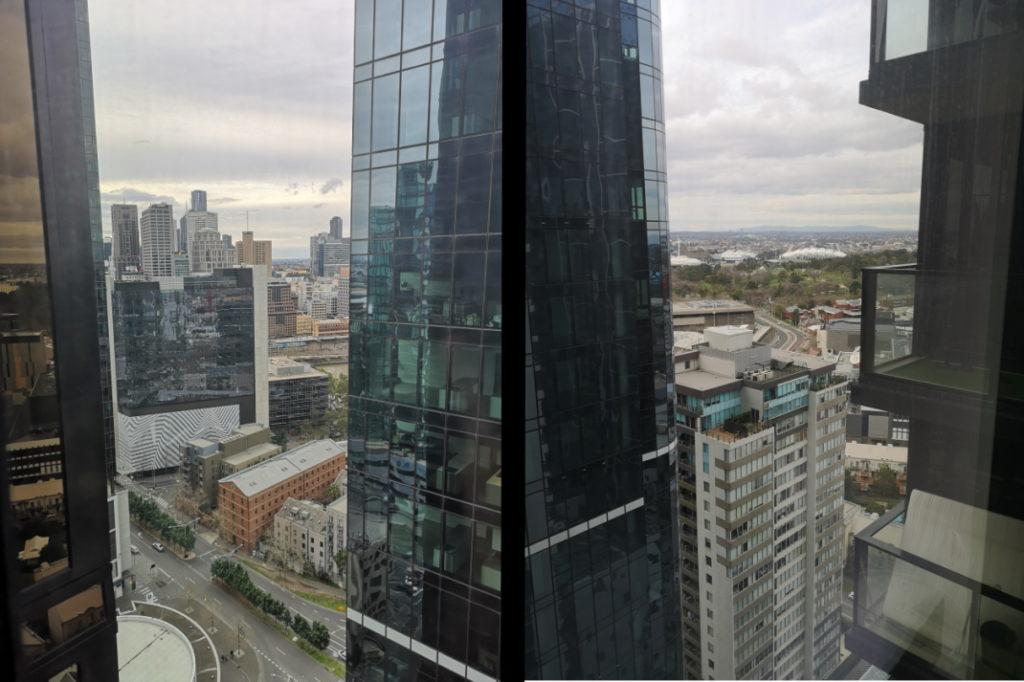 Montage des vues depuis notre AirBnB