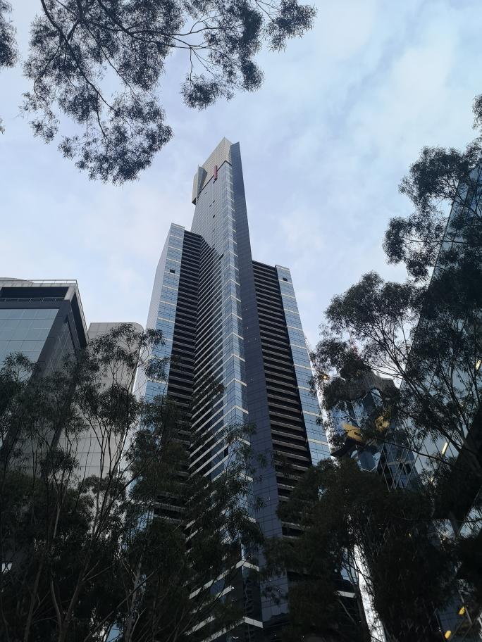 L'Eureka Tower vue de jour