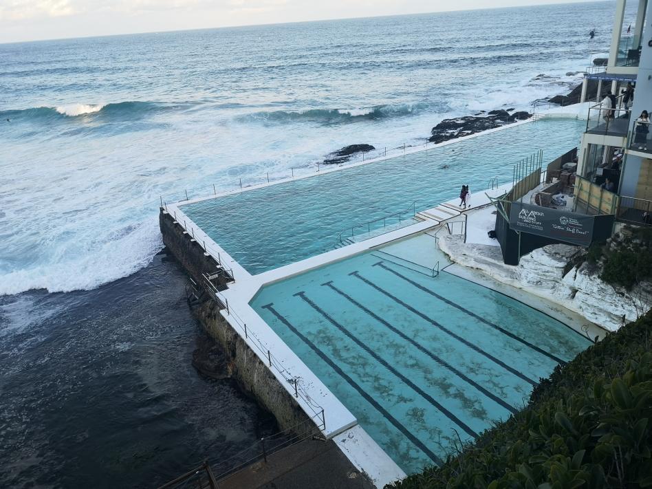 Célèbre piscine de l'Iceberg à Bondi Beach