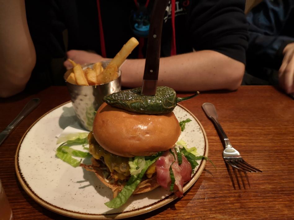 Le Java Lava Burger au Hard Rock Café de Sydney