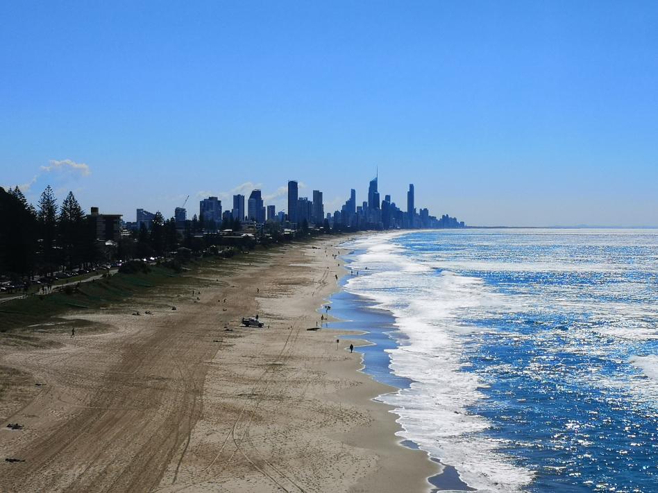 Vue de Surfers Paradise depuis Mick Schamburg Park Lookout